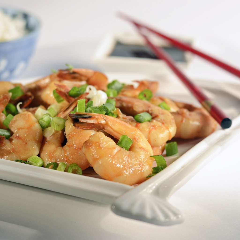 Roasted Shrimp with Agave-Ginger-Soy Marinade - Queen of My Kitchen