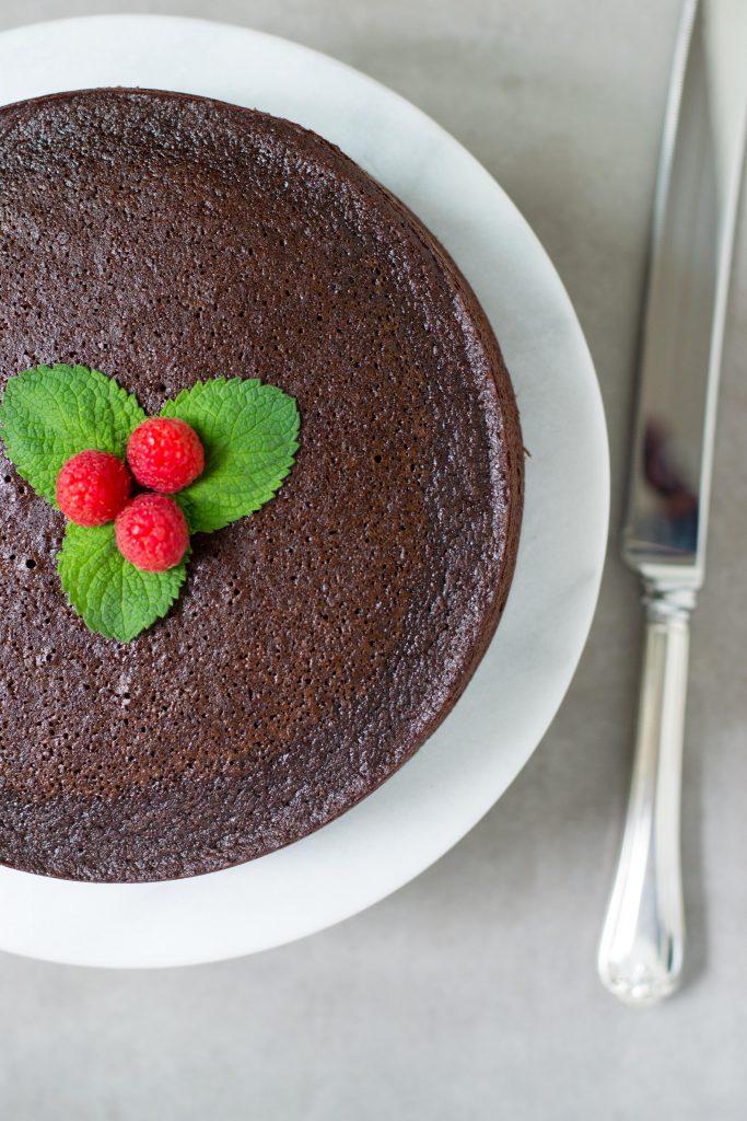 Coconut Flour Chocolate Avocado Cake Recipe