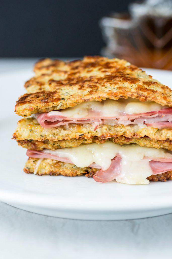Cauliflower Monte Cristo Sandwiches Queen Of My Kitchen