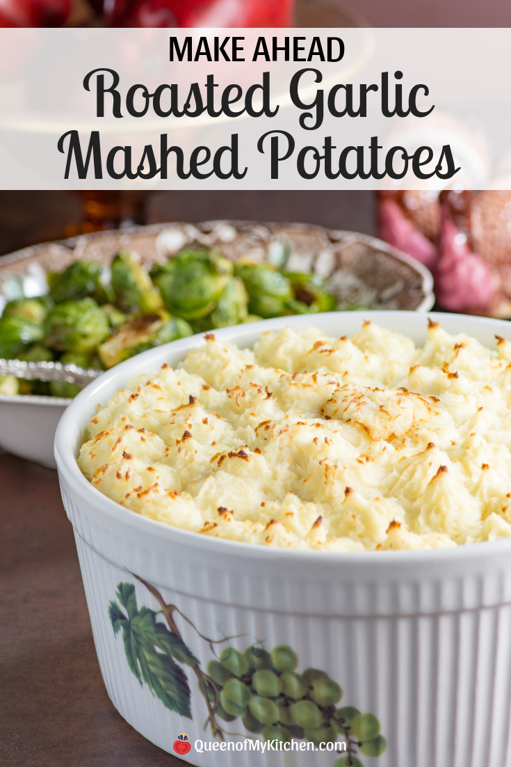 How to make garlic mashed potatoes ahead of time